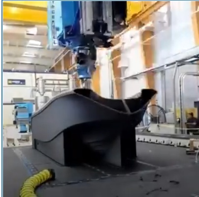 Un bateau en impression 3D